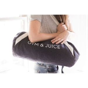 """NEW Private Party """"Gym & Juice"""" Gym Bag"""